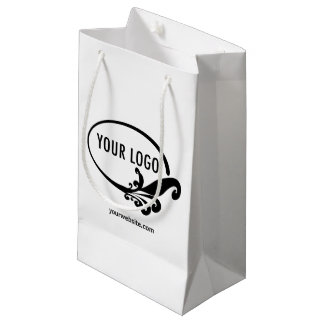 Small Gift Bag Custom Company Logo Promotional