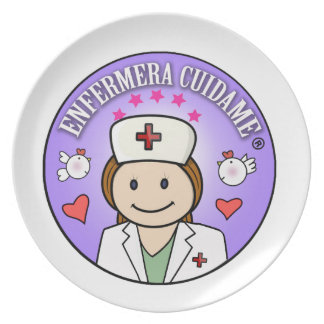Small gifts for Nurses Nurse Take care of to me Melamine Plate