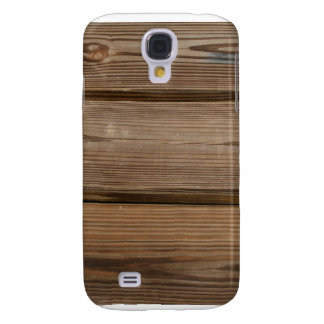 Small glass on wooden brown fishing dock planks samsung galaxy s4 case
