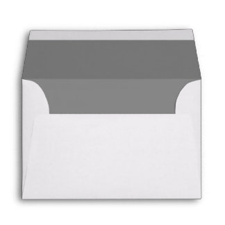 Small Gray RSVP Card or Greeting Card Envelopes