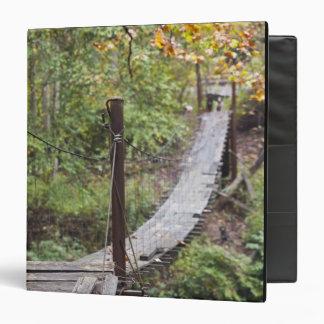 Small hanging bridge, National Coal Heritage 3 Ring Binder