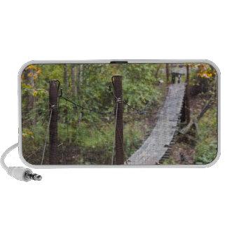 Small hanging bridge, National Coal Heritage iPod Speaker