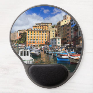 small harbor in Camogli, Italy Gel Mouse Pad