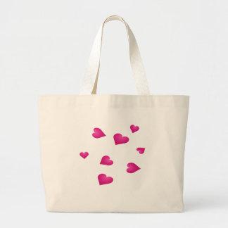 small hearts bag