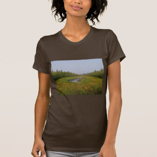 Small hidden lake on the Flats Shirts