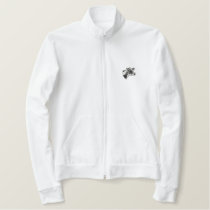 Small Holstein Head Embroidered Jacket