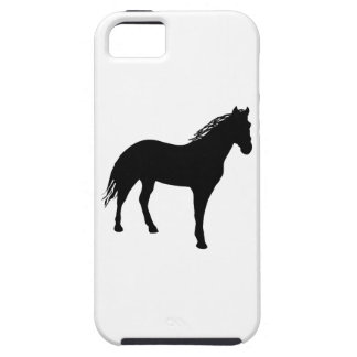 Small Horse Silouette iPhone 5 Case