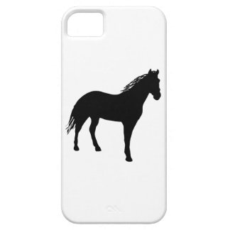 Small Horse Silouette iPhone 5 Cases
