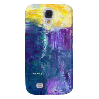 Small Hours Abstract Art Phone Case Galaxy S4 Cases