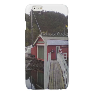 small house and sea.jpg glossy iPhone 6 case