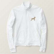 Small Hungarian Vizsla Embroidered Jacket
