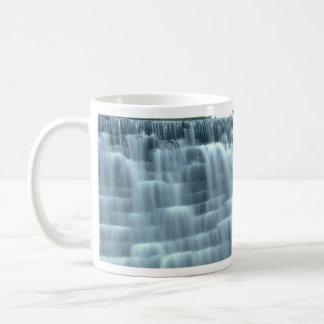 Small hydro-electric dam mug