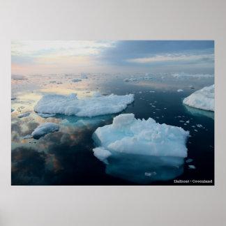 Small Iceberg Poster