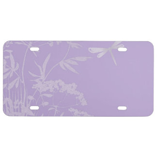 small idyll lilac (I) License Plate
