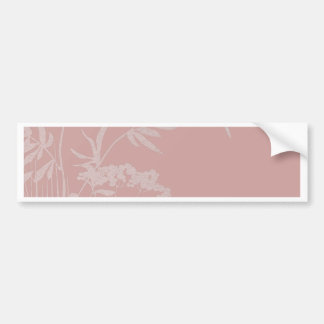 small idyll pink (I) Bumper Sticker