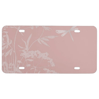 small idyll pink (I) License Plate