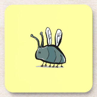 small insect drink coaster