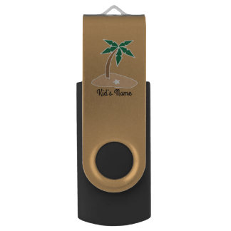 Small Island USB Flash Drive