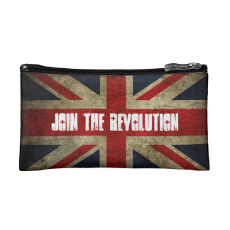 Small Join the Revolution Cosmetics bag