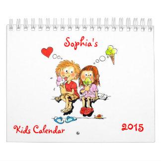 Small Kids Calendar 2015 - Funny Calendar For Kids