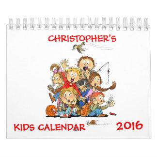Small Kids Calendar 2016 Funny Calendar For Kids