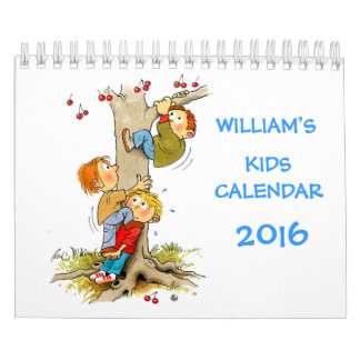 Small Kids Calendar 2016 Funny Calendars For Kids