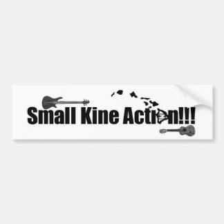 """""""Small Kine Action"""" Bumper Sticker Car Bumper Sticker"""