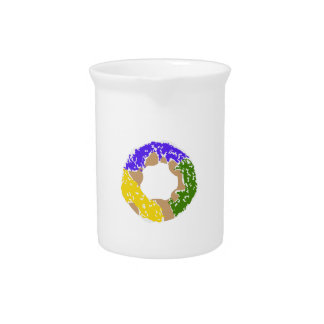 SMALL KING CAKE BEVERAGE PITCHERS
