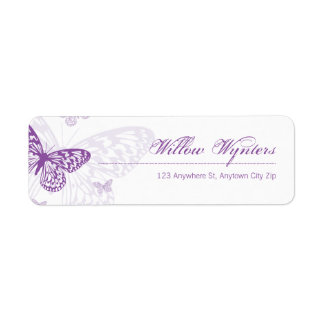 SMALL LABEL SEALS :: butterflies 3
