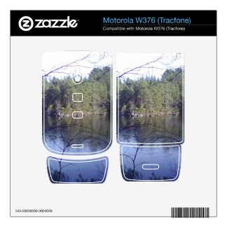 Small lake and trees decals for motorola w376