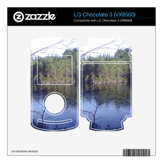 Small lake and trees skins for LG chocolate 3
