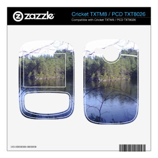 Small lake and trees decal for cricket TXTM8