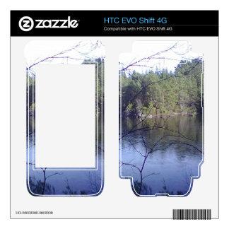 Small lake and trees HTC EVO shift 4G skins