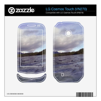 Small lake LG cosmos touch decals