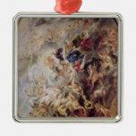 Small' Last Judgement, c.1620 Metal Ornament