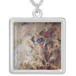 Small' Last Judgement, c.1620 Square Pendant Necklace
