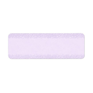 Small Lavender Apothecary Label Return Address Label