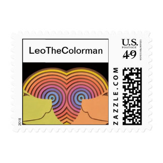 Small LeoTheColorman Stamp (Revised)