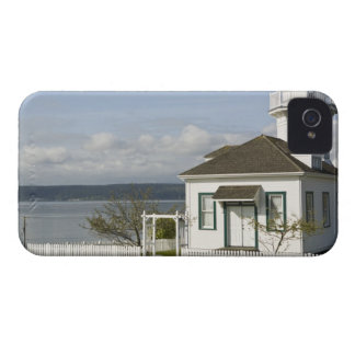 Small lighthouse in Port Townsend, WA iPhone 4 Cover