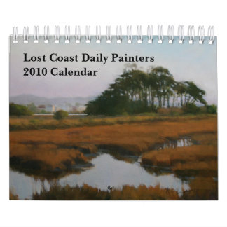 Small Lost Coast Daily Painters 2010 Calendar