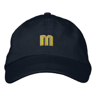 Small M Embroidered Baseball Hat