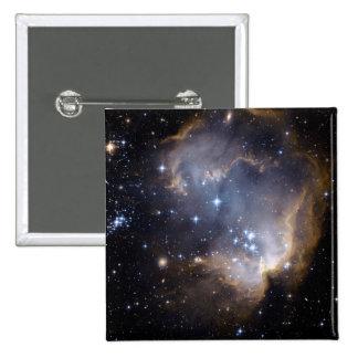 Small Magellanic Cloud 2 Inch Square Button