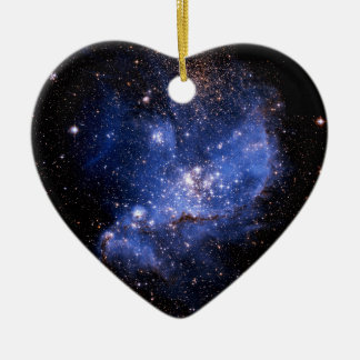 Small Magellanic Cloud Ceramic Ornament