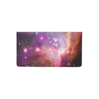 Small Magellanic Cloud Checkbook Cover
