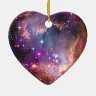 Small Magellanic Cloud Galaxy Space Ceramic Ornament