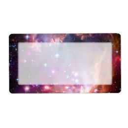 Small Magellanic Cloud Galaxy Space Label