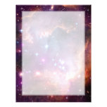 Small Magellanic Cloud Galaxy Space Personalized Letterhead