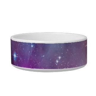 Small Magellanic Cloud Galaxy Space Pet Food Bowls