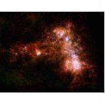 Small Magellanic Cloud Galaxy Star Formation Cut Outs