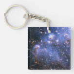 Small Magellanic Cloud Double-Sided Square Acrylic Keychain
